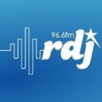Logo da emissora Radio Des Jeunes RDJ 96.6 FM
