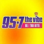 Logo da emissora Radio KCHZ 95.7 The Vibe FM