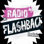 Logo da emissora Rádio Flash Back Indaial