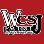 Logo da emissora Radio WCSJ 103.1 FM