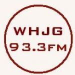 Logo da emissora Radio WHJG 93.3 FM