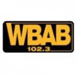 Logo da emissora WBAB 102.3 FM