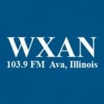 Logo da emissora WXAN 103.9 FM