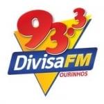 Logo da emissora Rádio Divisa 93.3 FM