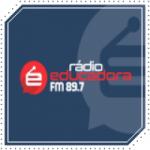 Logo da emissora Rádio Educadora 89.7 FM
