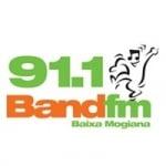 Logo da emissora Rádio Band 91.1 FM