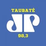 Logo da emissora Rádio Jovempan 98.3 FM