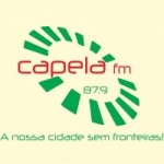 Logo da emissora Rádio Capela 87.9 FM