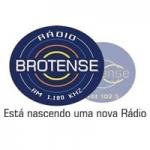 Logo da emissora Rádio Brotense 1180 AM