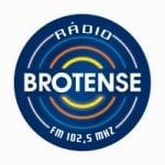 Logo da emissora Rádio Brotense 102.5 FM