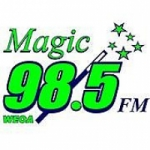 Logo da emissora Radio WEOA Magic 98.5 FM