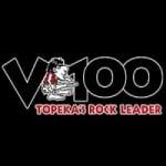 Logo da emissora Radio KDVV V 100.3 FM