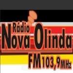 Logo da emissora Rádio Nova Olinda 103.9 FM