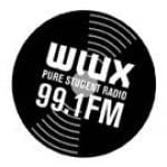 Logo da emissora Radio WIUX 99.1 FM