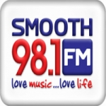 Logo da emissora Radio Smooth 98.1 FM