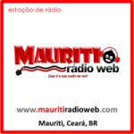 Logo da emissora Mauriti Rádio Web