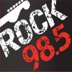 Logo da emissora Radio WMYK Rock 98.5 FM