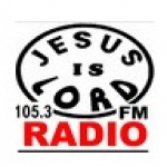 Logo da emissora Radio Jesus is Lord 105.3 FM