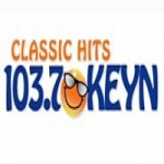 Logo da emissora Radio KEYN 103.7 FM