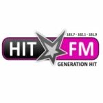 Logo da emissora Radio HIT Reunion 102.1 FM