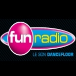 Logo da emissora Radio Fun Radio Reunion 95.5 FM