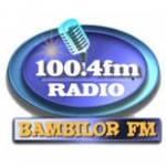 Logo da emissora Radio Bambilor 100.4 FM