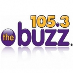 Logo da emissora Radio KFBZ 105.3 The Buzz FM