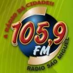 Logo da emissora Rádio São Miguel 105.9 FM
