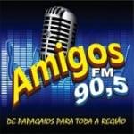 Logo da emissora Rádio Amigos 90.5 FM