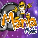 Logo da emissora Rádio Mania Music