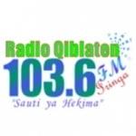 Logo da emissora Radio Qiblaten 103.6 FM