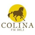 Logo da emissora Rádio Colina 105.1 FM