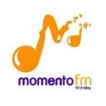 Logo da emissora Rádio Momento 97.9 FM