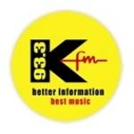 Logo da emissora Radio KFM 93.3 FM
