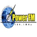 Logo da emissora Radio Power 104.1 FM
