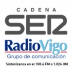 Logo da emissora Radio Vigo FM 100.6