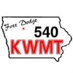 Logo da emissora Radio KWMT 540 AM