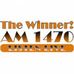 Logo da emissora Radio KWAY The Winner 1470 AM