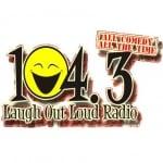 Logo da emissora KCAR 104.3 FM
