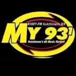 Logo da emissora Radio KHMY My 93.1 FM