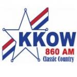 Logo da emissora Radio KKOW 860 AM