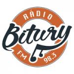 Logo da emissora Rádio Bitury FM 98.3