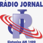 Logo da emissora Rádio Jornal 1400 AM