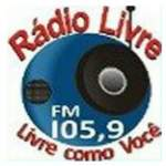 Logo da emissora Rádio Livre 105.9 FM