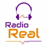 Logo da emissora Rádio Real 1300 AM