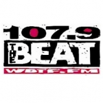 Logo da emissora Radio WBTF The Beat 107.9 FM