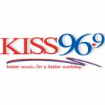 Logo da emissora Radio WGKS Kiss 96.9 FM