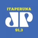Logo da emissora Rádio Jovempan 91.3 FM
