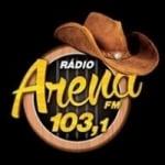 Logo da emissora Rádio Arena 103.1 FM