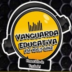 Logo da emissora Radio Vanguarda Educativa 106.5 FM